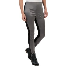 Lysse Sophie Satin Leggings (For Women) in Pewter Shine - Closeouts