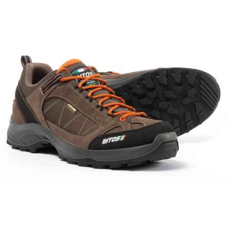 Lytos Cosmic Jab Wave 13 Hiking Shoes - Waterproof (For Men) in Caribou/Orange - Closeouts