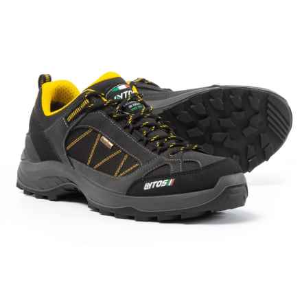 Lytos Cosmic Jab Wave 13 Hiking Shoes - Waterproof (For Men) in Shark/Yellow - Closeouts