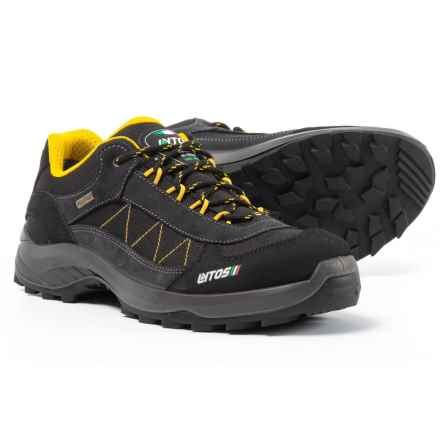Lytos Denter Jab Hiking Shoes - Waterproof (For Men) in Shark/Yellow - Closeouts