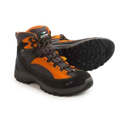 Lytos Escape Hiking Boots - Waterproof (For Men) in Orange - Closeouts
