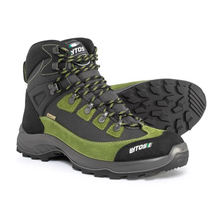 9ad30747eabcef Lytos Made in Europe Tarent Hiking Boots - Waterproof (For Men) in Aloe/