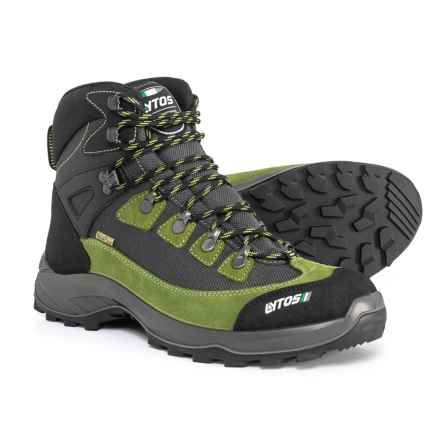 Lytos Made in Europe Tarent Hiking Boots - Waterproof (For Men) in Aloe/Anthracite - Closeouts