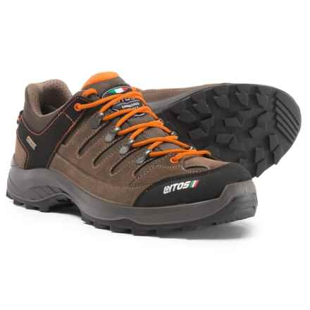 Lytos Onex Jab Hiking Shoes - Waterproof (For Men) in Brown/Orange - Closeouts