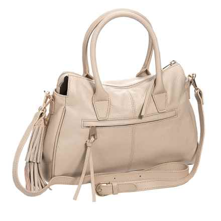 M London Convertible Satchel - Leather (For Women) in Bone - Closeouts