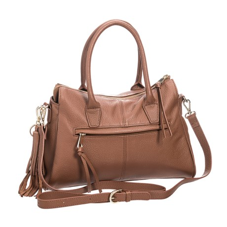 M London Convertible Satchel - Leather (For Women) in Tan