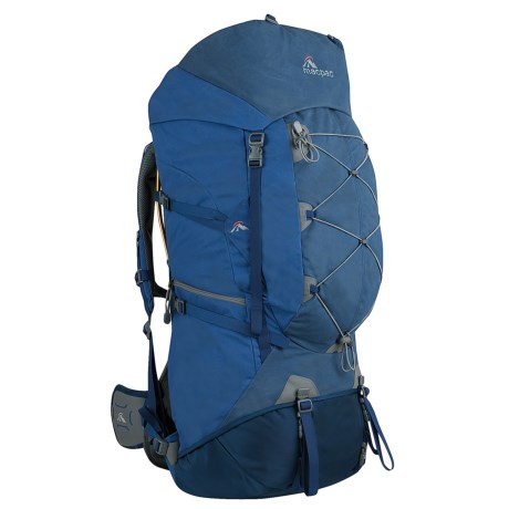 Macpac Cascade 90L Backpack - Internal Frame in Submarine