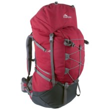 Macpac Torre 80L Backpack - Internal Frame in Cardinal - Closeouts
