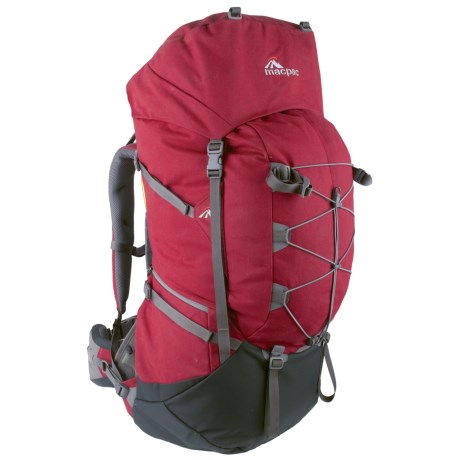 Macpac Torre 80L Backpack - Internal Frame in Cardinal