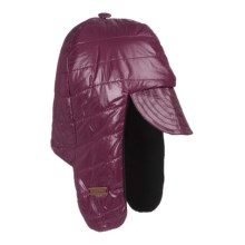 Mad Bomber® Quilted Ripstop Aviator Hat - Insulated, Fleece Lining (For Men and Women) in Rhody - Closeouts