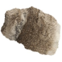 Mad Bomber® Trooper Hat - Rabbit Fur, Insulated (For Men and Women) in Brown - Closeouts