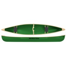 """Mad River Reflection Aluminum Canoe - 15"""" in Spruce - Closeouts"""