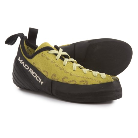 Mad Rock Banshee Climbing Shoes - Suede (For Big Girls) in Green
