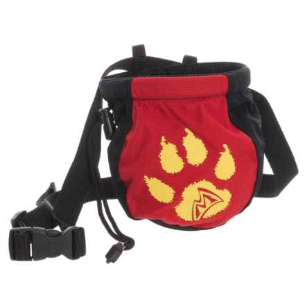Mad Rock Chalk Bag (For Kids) in Bear Paw Red - Closeouts