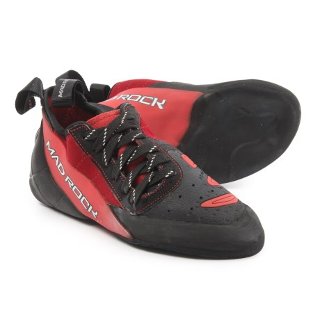 Mad Rock Concept 2.0 Climbing Shoes (For Big Kids) in Red/Black