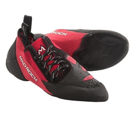 Mad Rock Concept 2.0 Climbing Shoes (For Men) in Red/Black