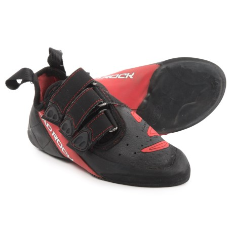 Mad Rock Concept Climbing Shoes - Suede (For Big Kids) in Red/Black