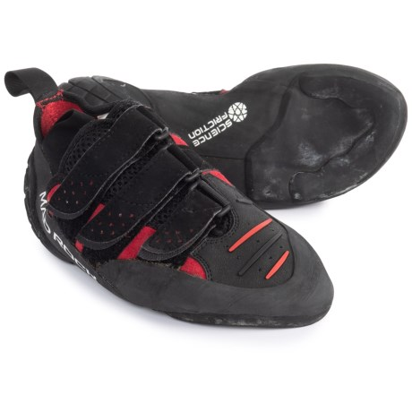 Mad Rock Conflict 2.0 Climbing Shoes (For Big Kids) in Red/Black