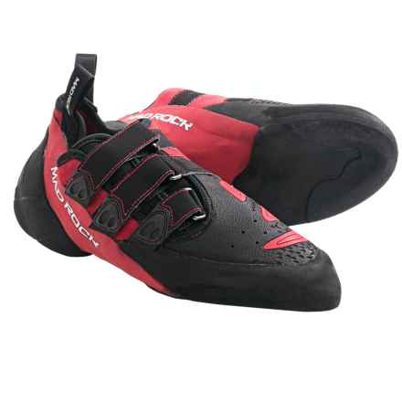 Mad Rock Conflict 2.0 Climbing Shoes (For Men) in Red/Black - Closeouts