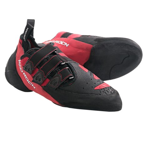 Mad Rock Conflict 2.0 Climbing Shoes (For Men) in Red/Black