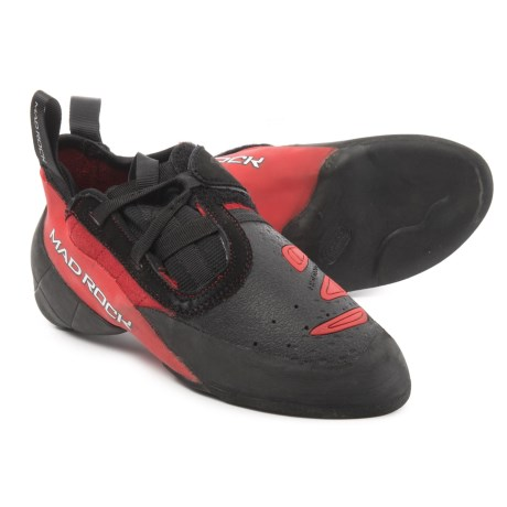 Mad Rock Contact 2.0 Climbing Shoes (For Men and Women) in Red/Black