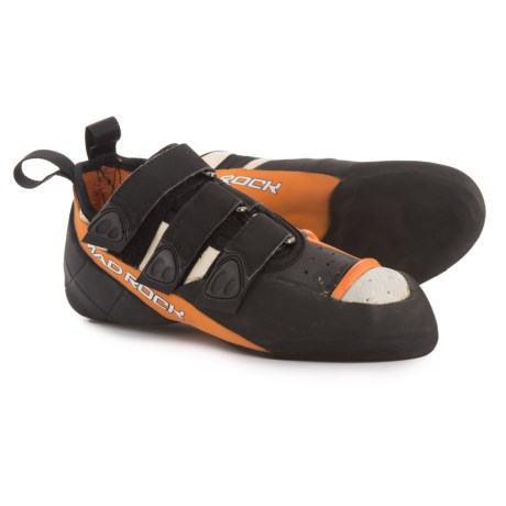 Mad Rock Demon 2.0 Climbing Shoes (For Big Kids) in White/Orange/Black
