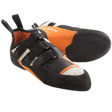 Mad Rock Demon 2.0 Climbing Shoes (For Men) in White/Orange/Black