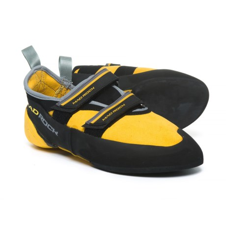 Mad Rock Flash 2.0 Climbing Shoes (For Men and Women) in Yellow