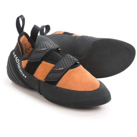Mad Rock Flash Climbing Shoes (For Men and Women) in Orange