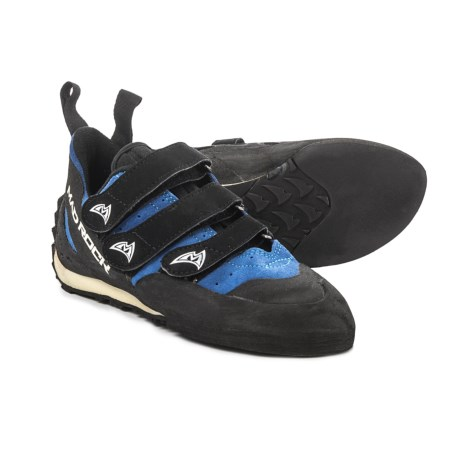 Mad Rock Frenzy EZ/EVA Climbing Shoes (For Big Kids) in Blue/Black