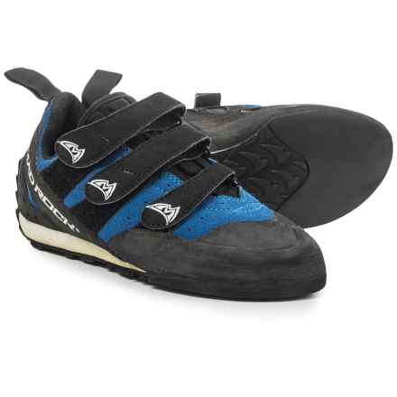 Mad Rock Frenzy EZ/EVA Climbing Shoes - Suede (For Men and Women) in Blue/Black - Closeouts