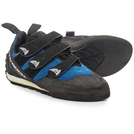 Mad Rock Frenzy EZ/EVA Climbing Shoes - Suede (For Men and Women) in Blue/Black