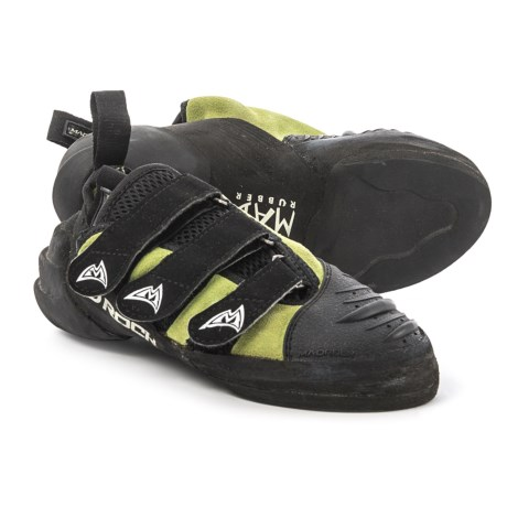 Mad Rock Hooker Strap Climbing Shoes (For Big Kids) in Yellow/Black