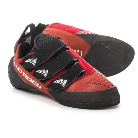 Mad Rock Hottie Climbing Shoes (For Big Kids) in Red/Black
