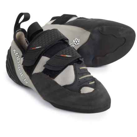 Mad Rock Mugen Tech Climbing Shoes (For Big Kids) in Grey/Black - Closeouts
