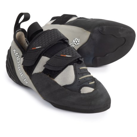 Mad Rock Mugen Tech Climbing Shoes (For Big Kids) in Grey/Black