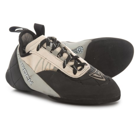 Mad Rock Mugen Tech Lace 2.0 Climbing Shoes (For Big Kids) in Grey/Black