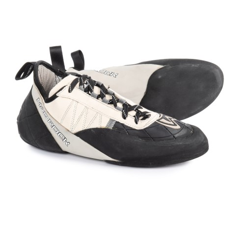 Mad Rock Mugen Tech Lace 2.0 Climbing Shoes (For Men and Women) in Grey/Black