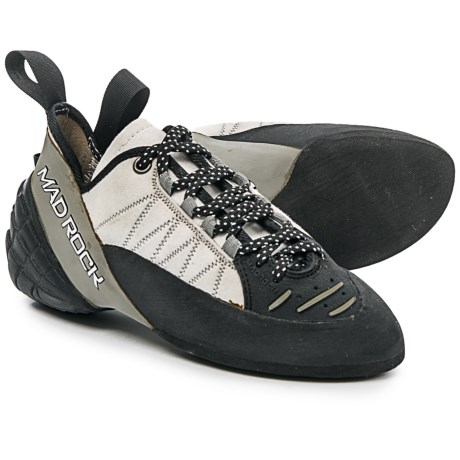 Mad Rock Mugen Tech Lace Climbing Shoes (For Big Kids) in Grey/Black