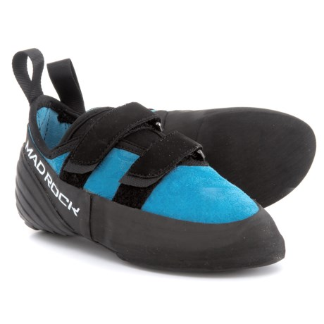 Mad Rock Onsight Climbing Shoes - Suede (For Big Girls) in Aqua