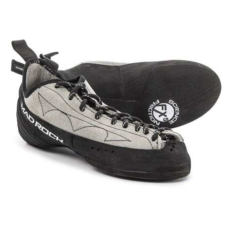 Mad Rock Phoenix Climbing Shoes (For Big Kids) in Gray