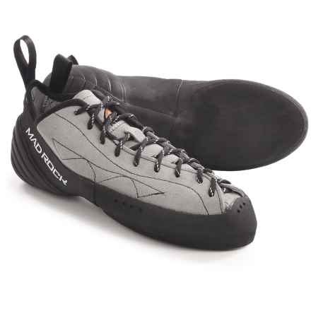 Mad Rock Phoenix Climbing Shoes (For Men and Women) in Grey/Black - Closeouts