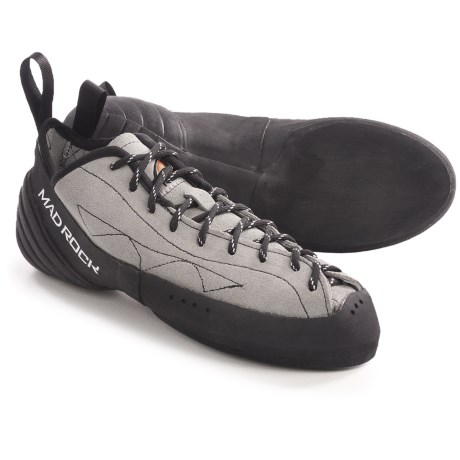 Mad Rock Phoenix Climbing Shoes (For Men and Women) in Grey/Black