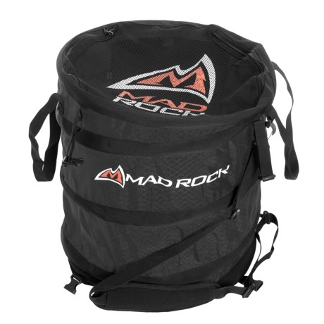 Mad Rock Rope Pod Haul Bag in Black