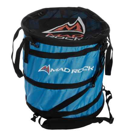 Mad Rock Rope Pod Haul Bag - Spring Loaded in Blue - Closeouts