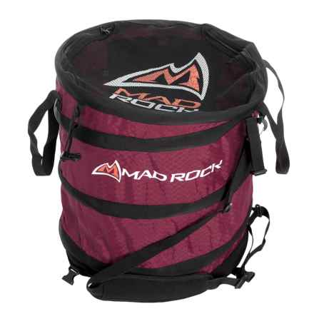 Mad Rock Rope Pod Haul Bag - Spring Loaded in Wine - Closeouts
