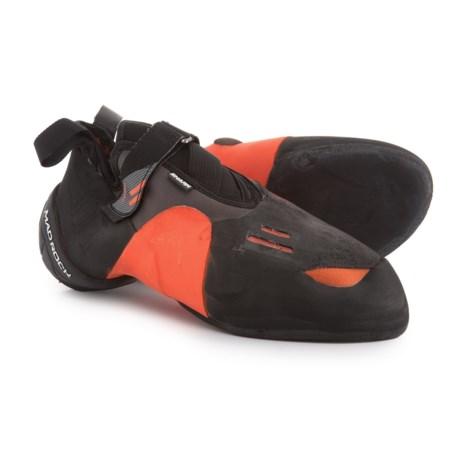 Mad Rock Shark 2.0 Climbing Shoes in Black/Orange/White