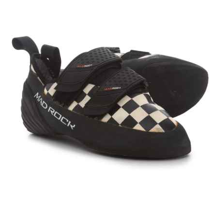 Mad Rock Trickster Climbing Shoes (For Big Kids) in White/Black - Closeouts