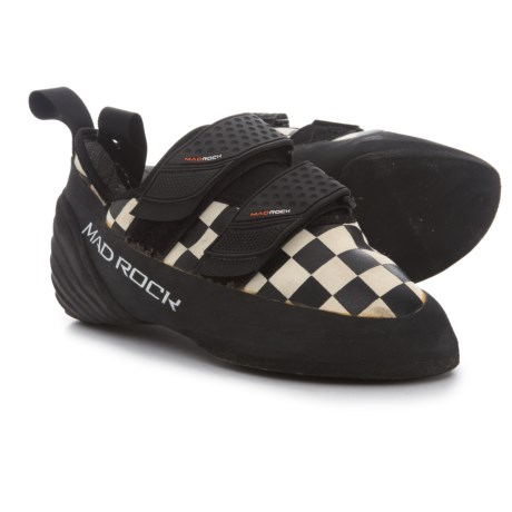 Mad Rock Trickster Climbing Shoes (For Big Kids) in White/Black