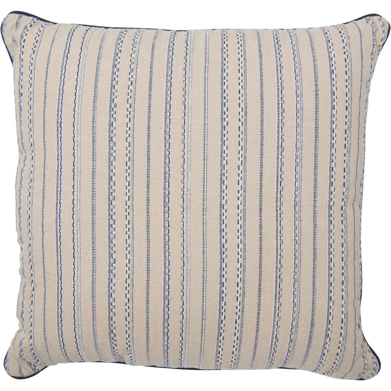Made In India Natural Stripe Woven